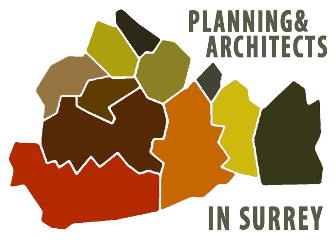 Surrey Map graphic Extension Architecture
