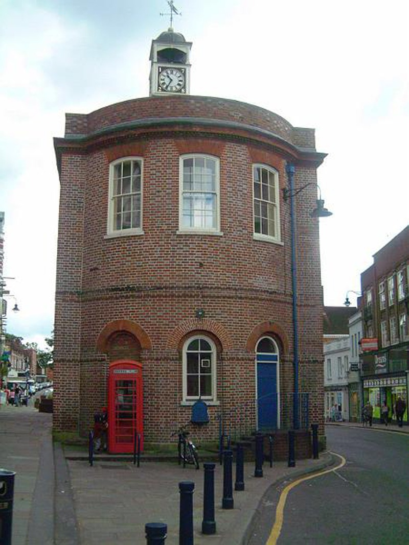 Reigate & Banstead Planning Permissionshowing a picture of theREIGATE and BANSTEAD Old Town Hall