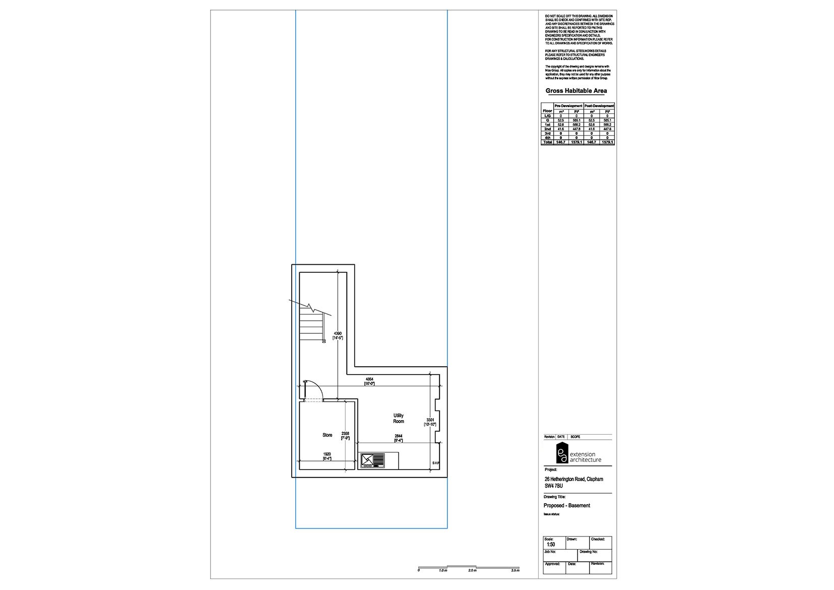 RESIDENTIAL 26HR proposed_basement extension…page 01