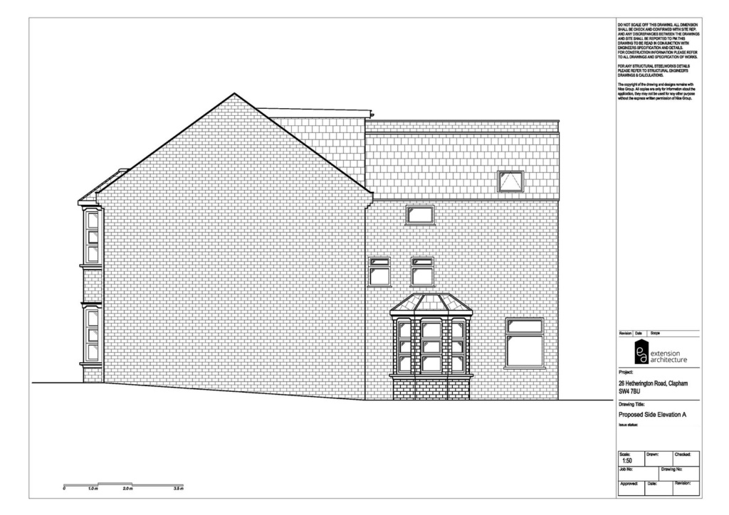 RESIDENTIAL 26HR proposed basement extension