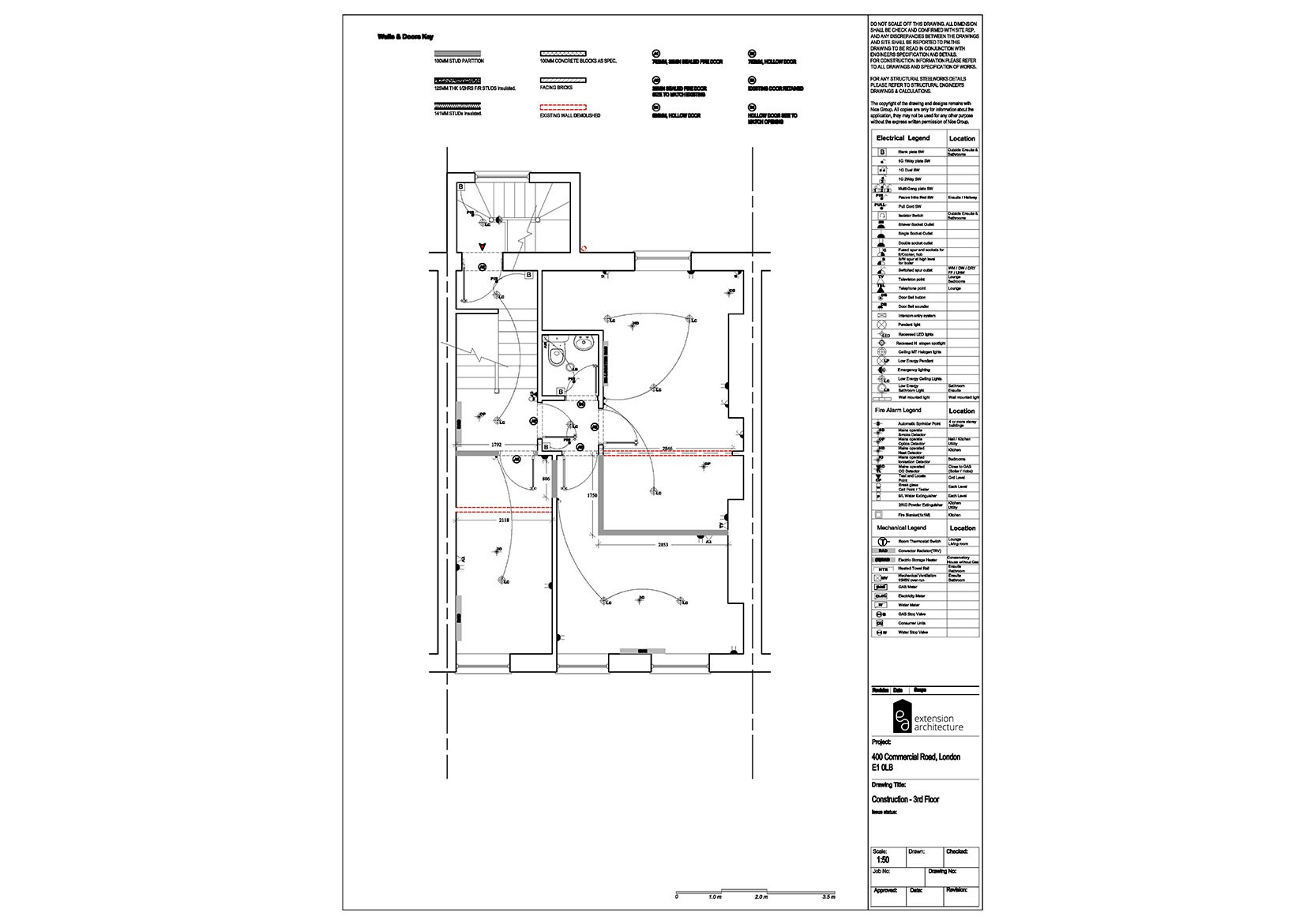 RESIDENTIAL 400CR proposed_basement extension...page 05