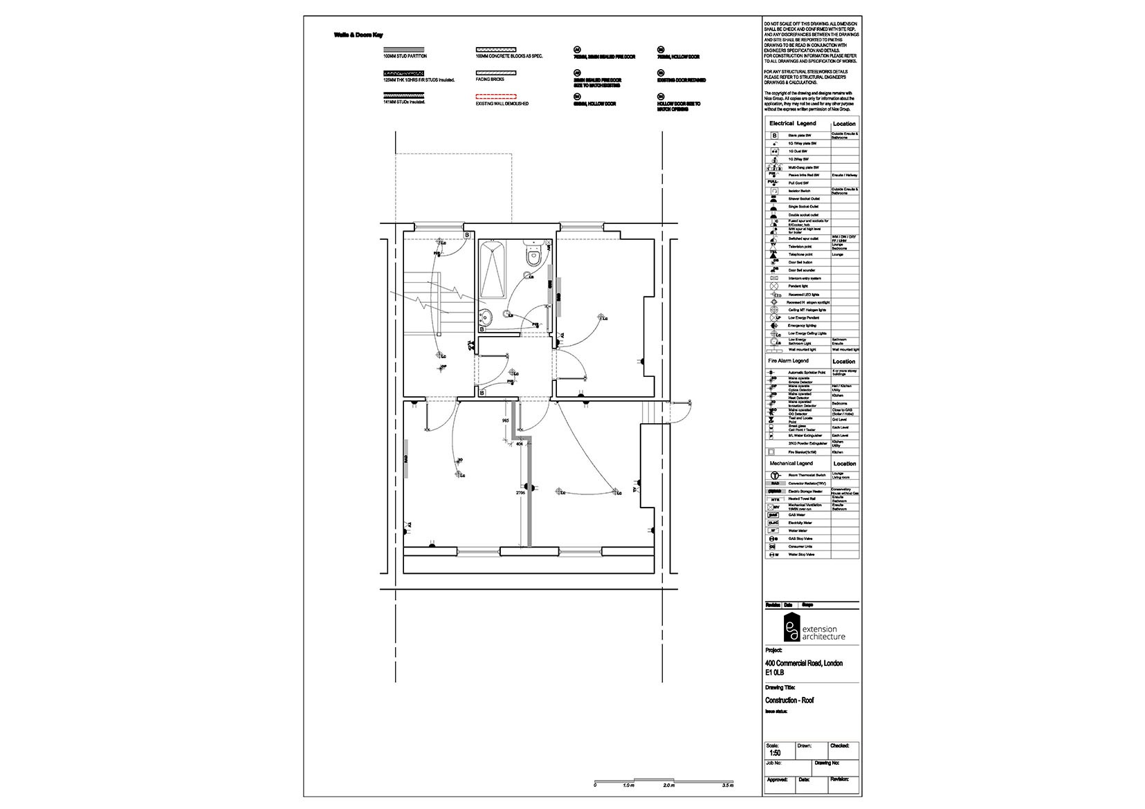 RESIDENTIAL 400CR proposed_basement extension...page 06