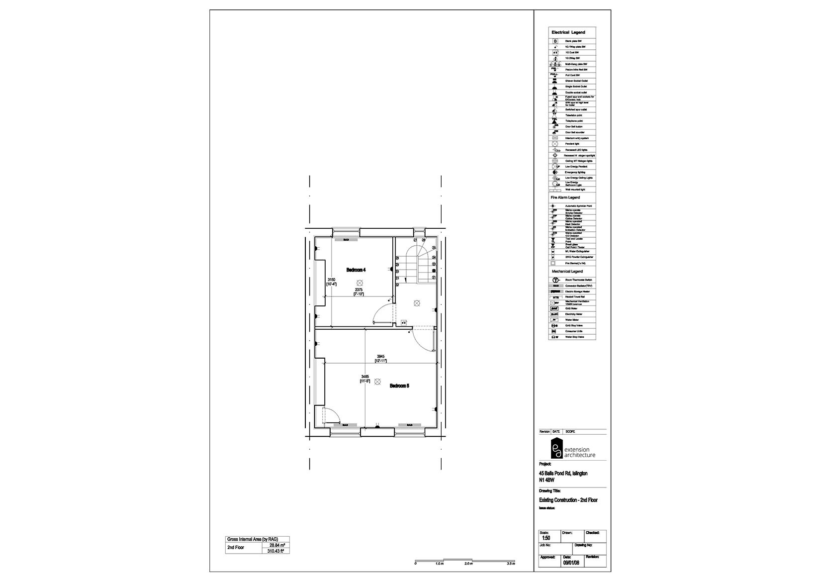 RESIDENTIAL 45 BPR_existing_single storey rear extension…page 03