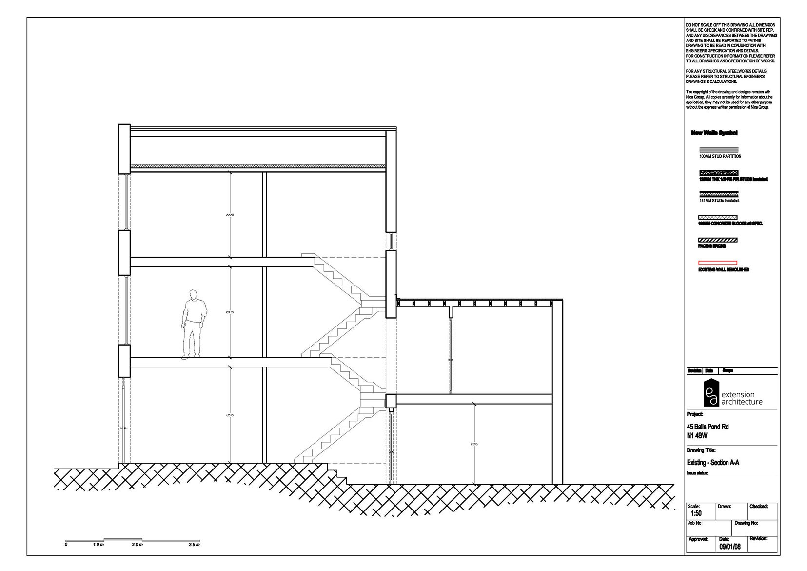 RESIDENTIAL 45 BPR_existing_single storey rear extension…page 04