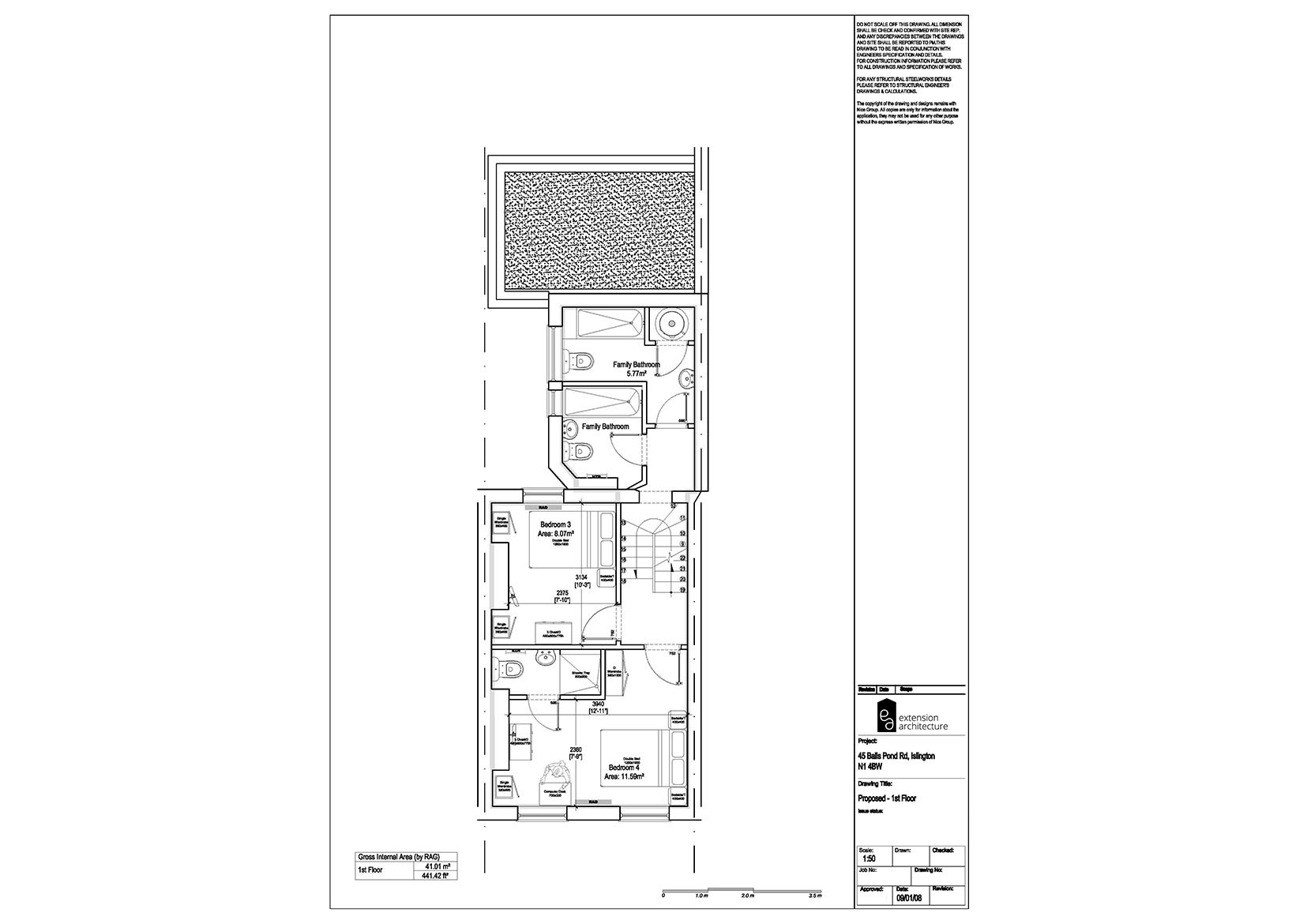 RESIDENTIAL 45 BPR_proposed_single storey rear extension…page 02