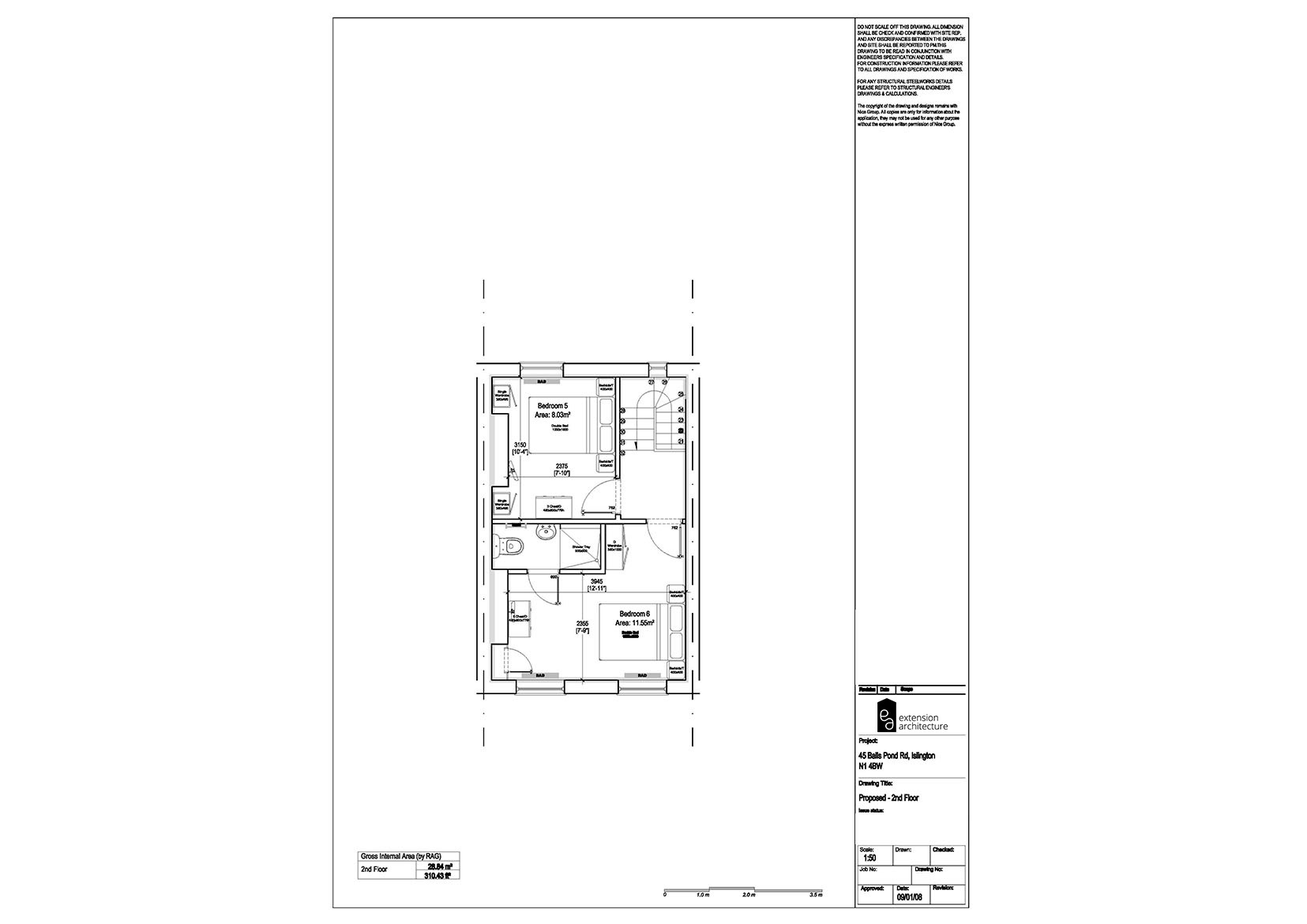 RESIDENTIAL 45 BPR_proposed_single storey rear extension…page 03