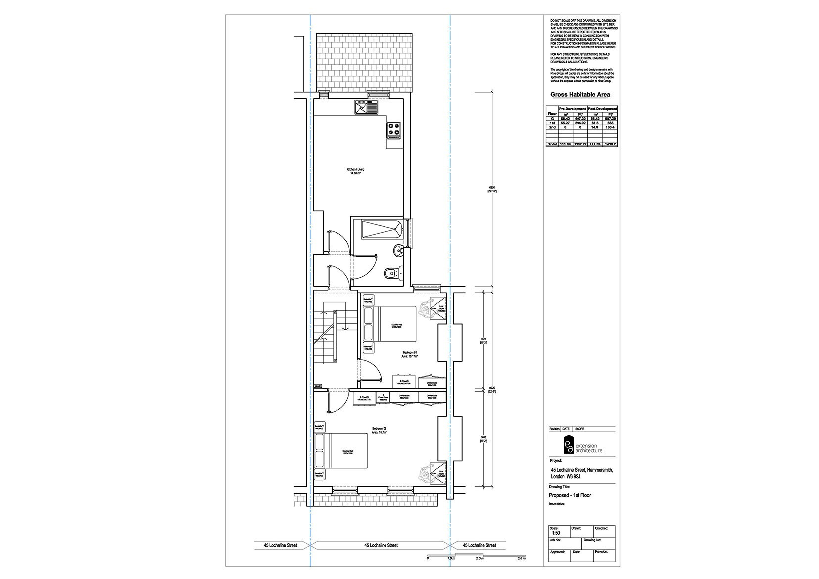 RESIDENTIAL 45LS proposed_convert to flats...page 02