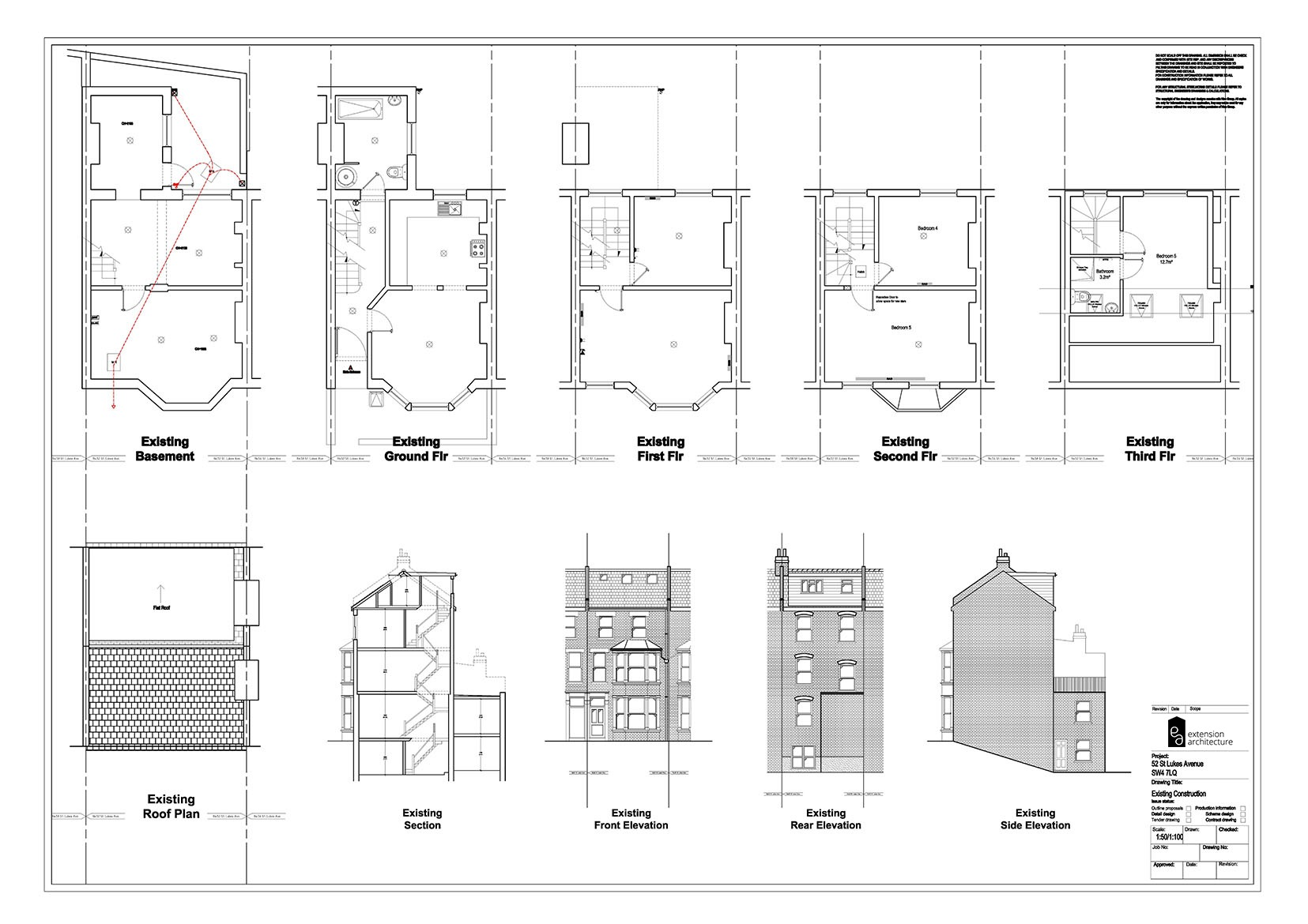 RESIDENTIAL 52SL existing_single storey rear extension…page 01