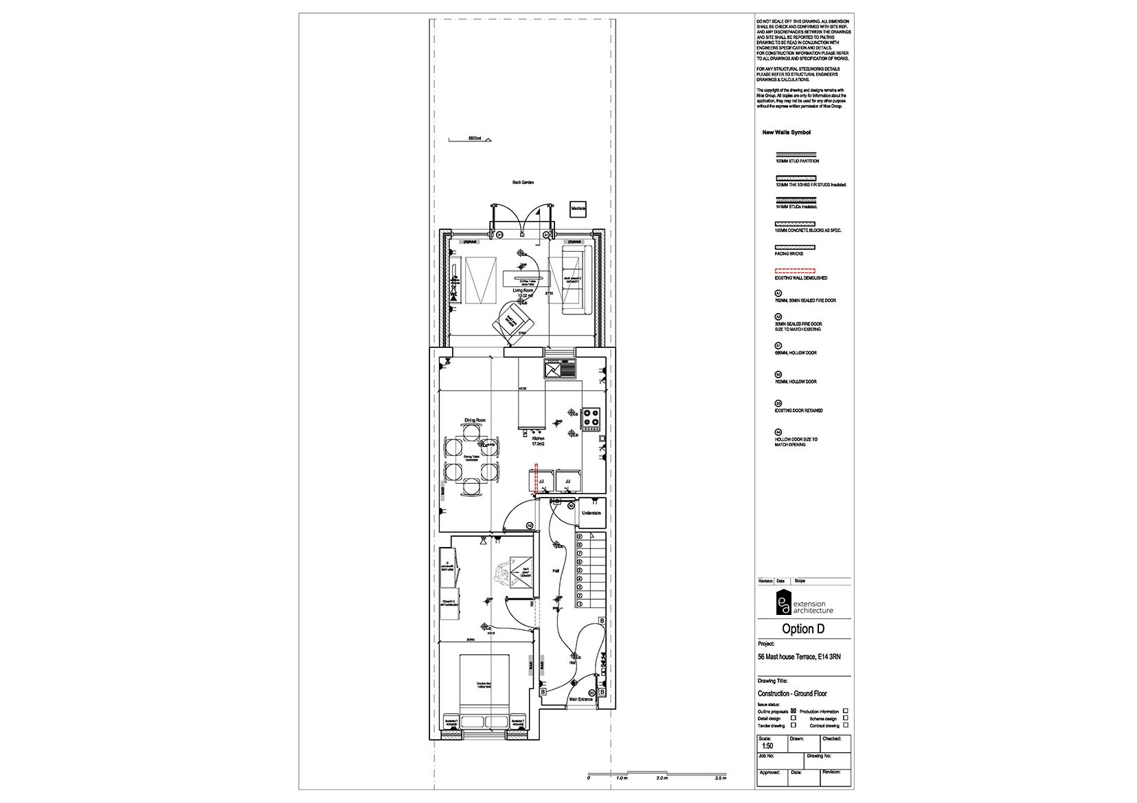 RESIDENTIAL 56MHT construction-single storey rear extension…page 01