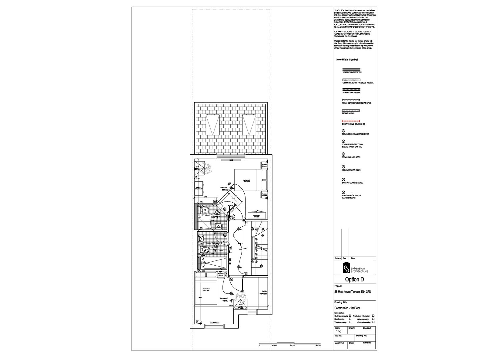RESIDENTIAL 56MHT construction-single storey rear extension…page 02