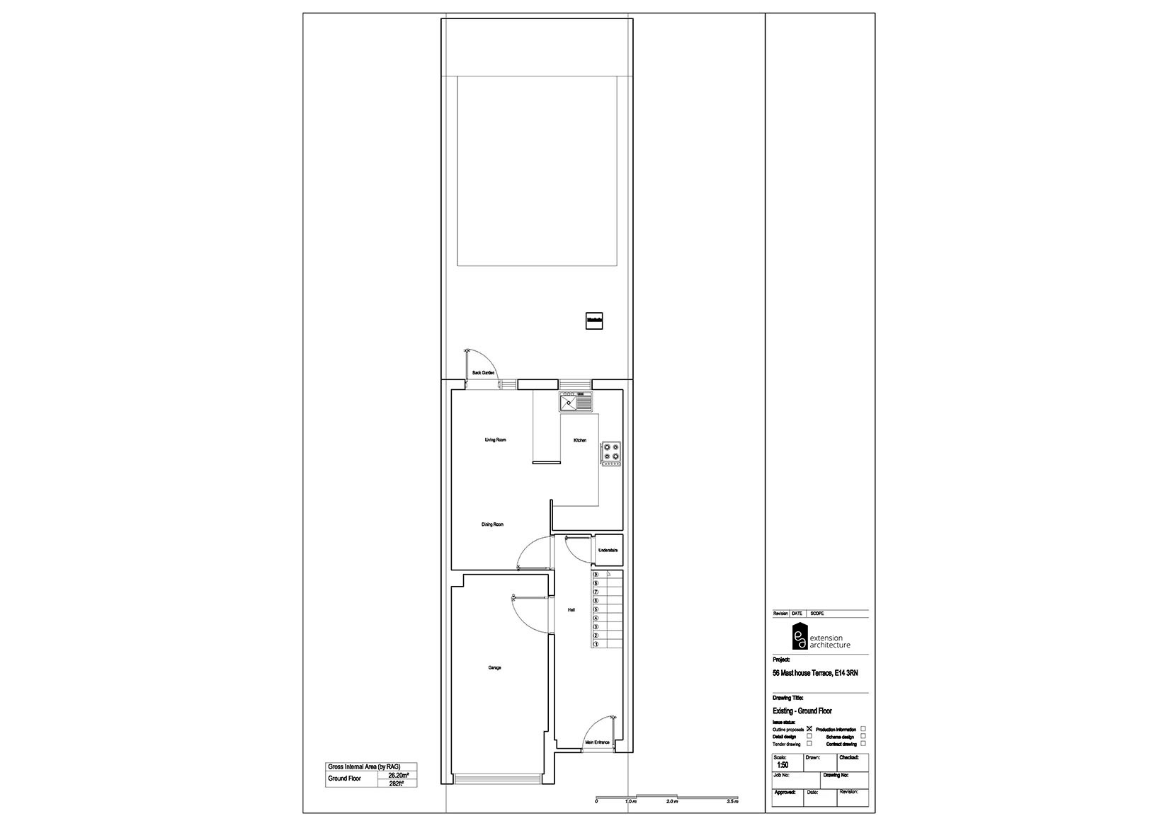 RESIDENTIAL 56MHT existing-single storey rear extension…page 01