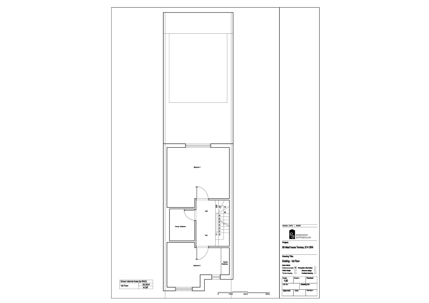 RESIDENTIAL 56MHT existing-single storey rear extension…page 02