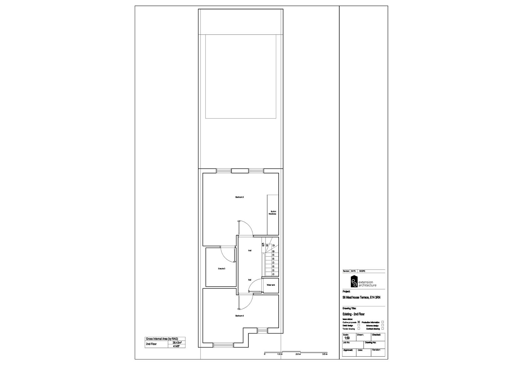 RESIDENTIAL 56MHT existing-single storey rear extension…page 03