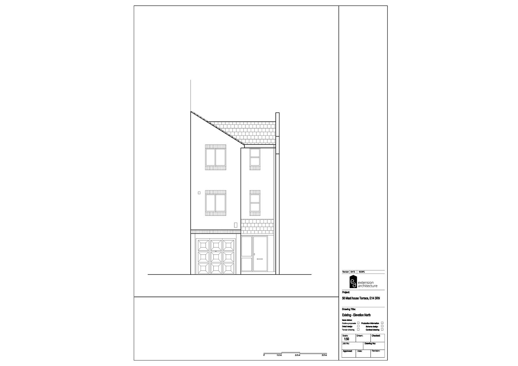RESIDENTIAL 56MHT existing-single storey rear extension…page 05