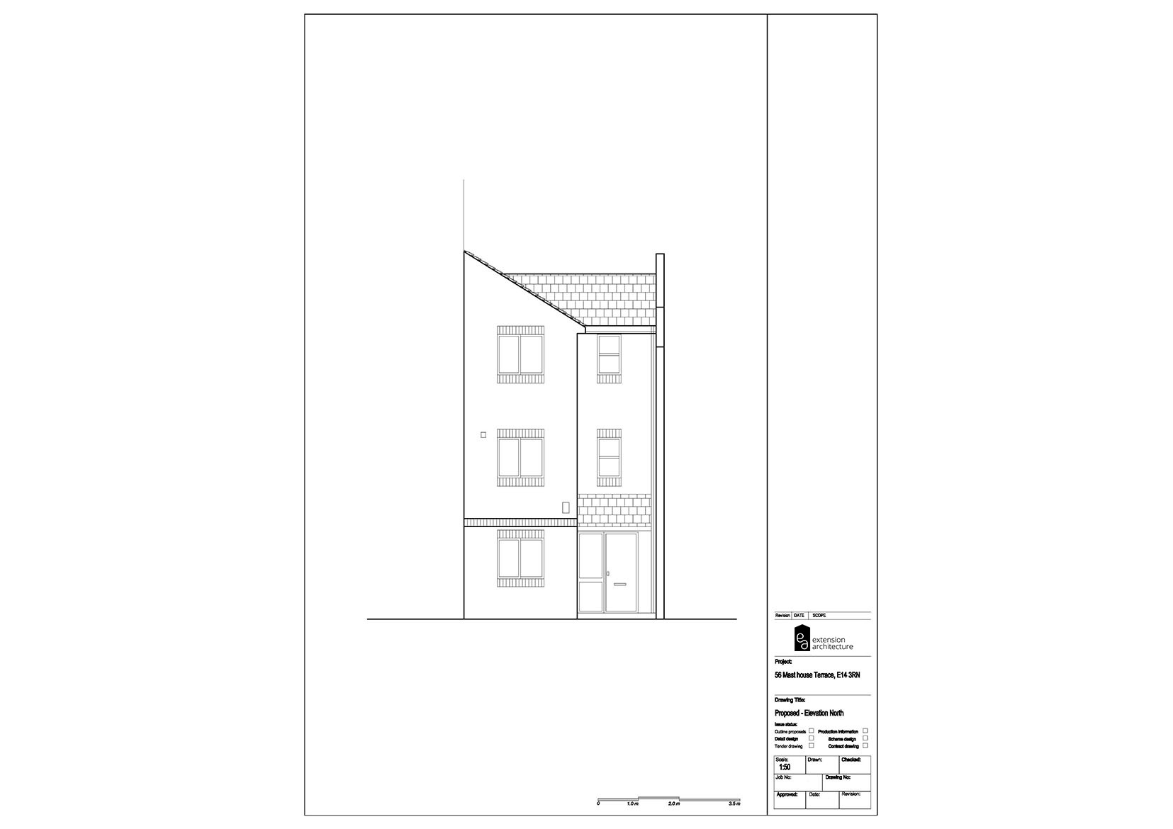 RESIDENTIAL 56MHT proposed-single storey rear extension…page 05