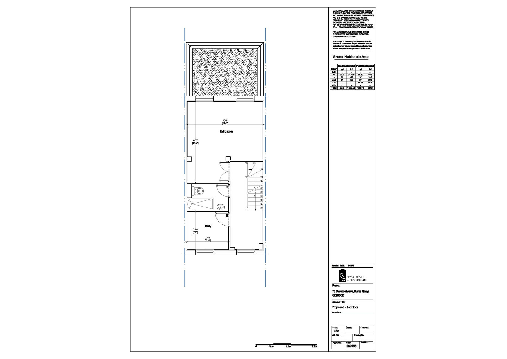 RESIDENTIAL 78CM proposed-single storey rear extension…page 02