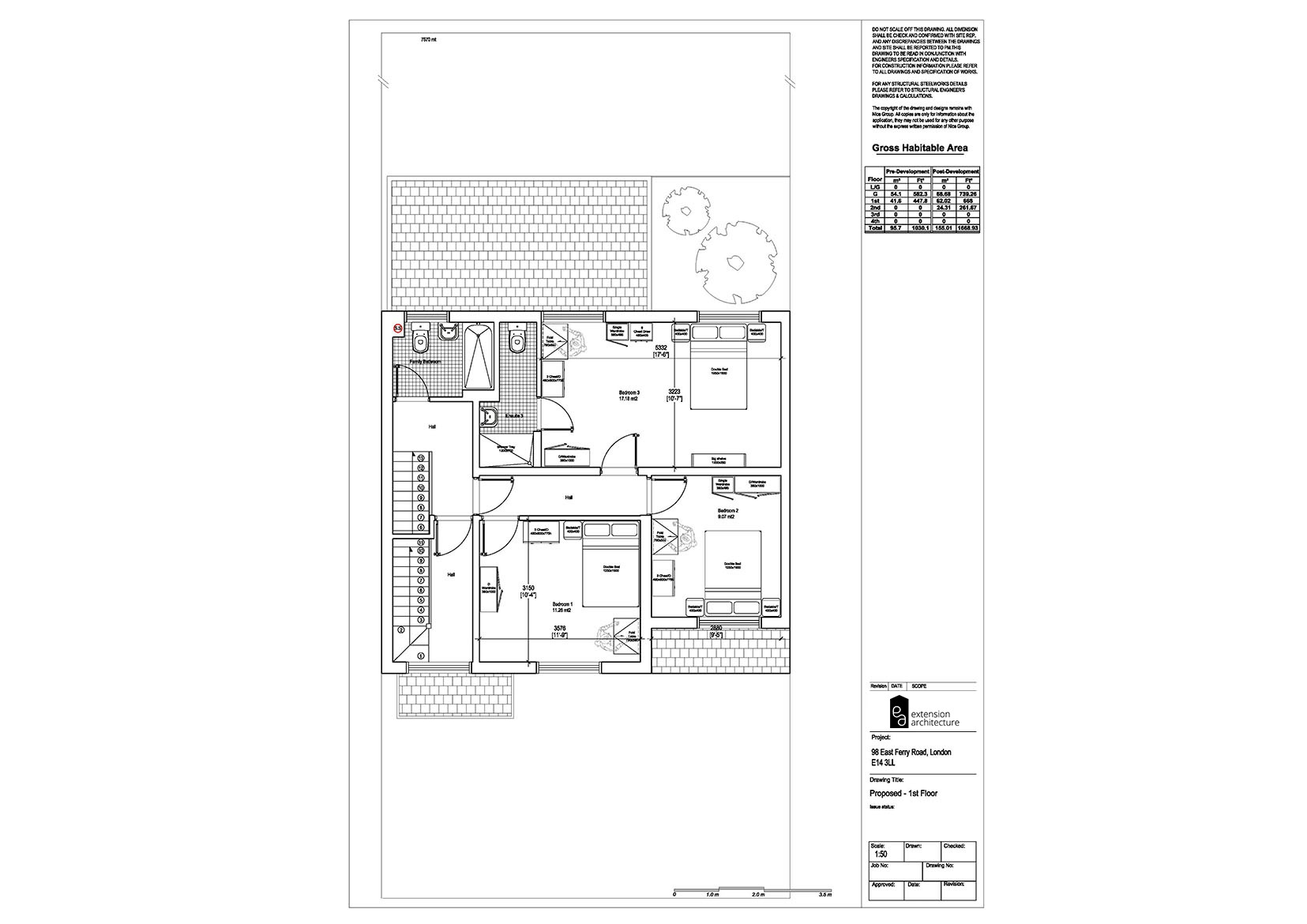 RESIDENTIAL 98 EFR proposed-double storey extension...page 02