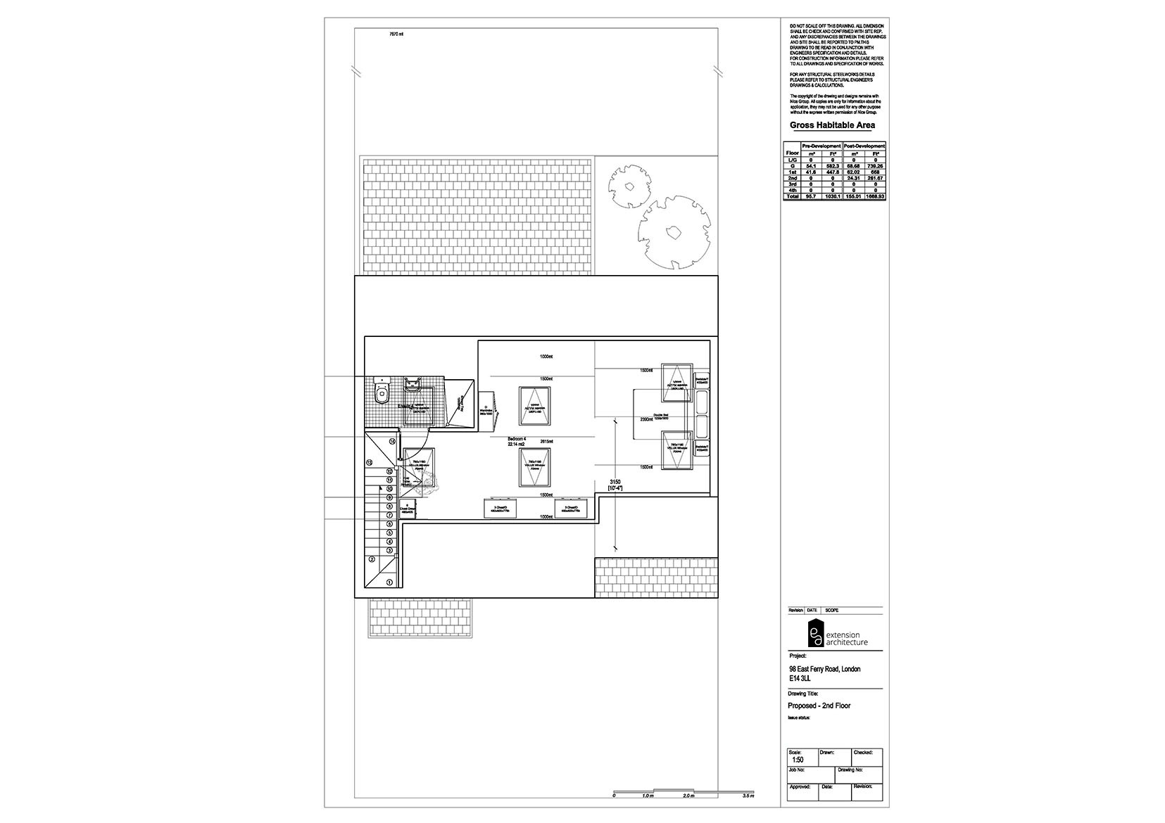 RESIDENTIAL 98 EFR proposed-double storey extension...page 03