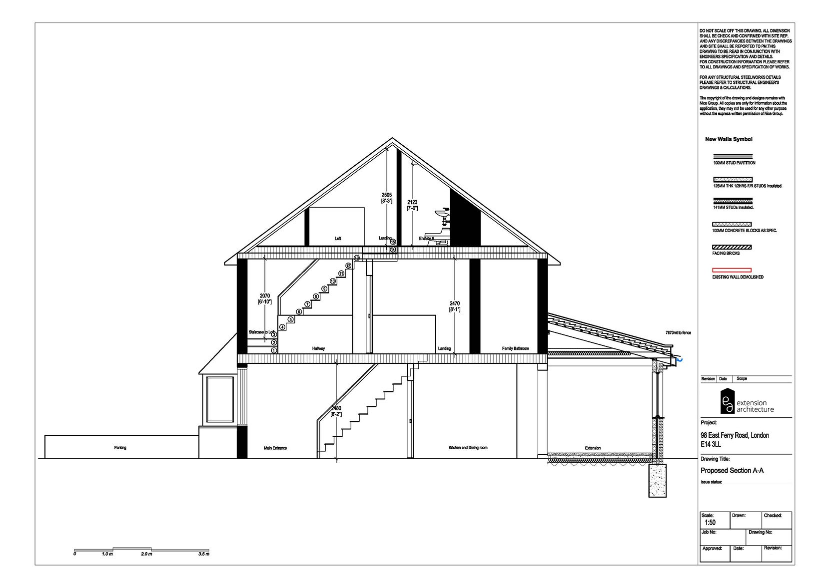 RESIDENTIAL 98 EFR proposed-double storey extension...page 04