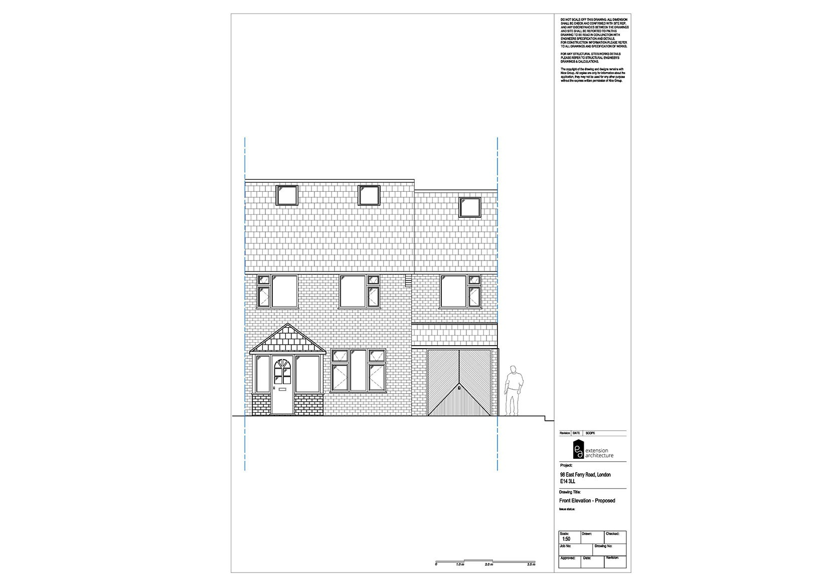 RESIDENTIAL 98 EFR proposed-double storey extension...page 05