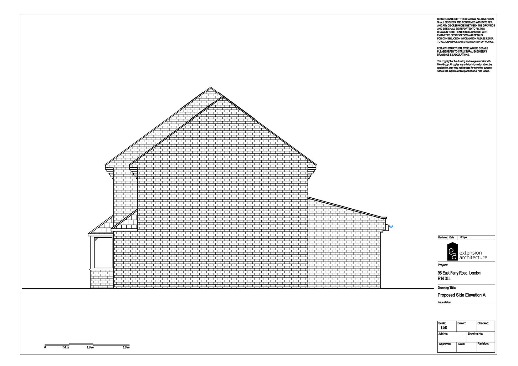 RESIDENTIAL 98 EFR proposed-double storey extension...page 07