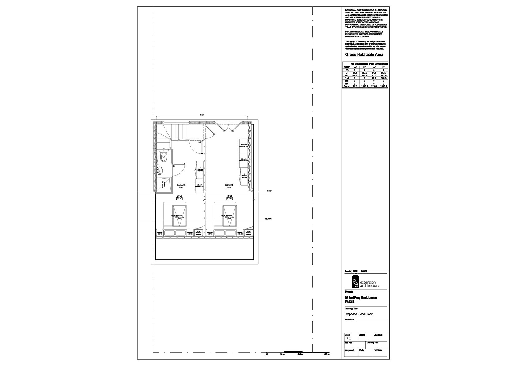 RESIDENTIAL 98 EFR proposed-loft conversion…page 03