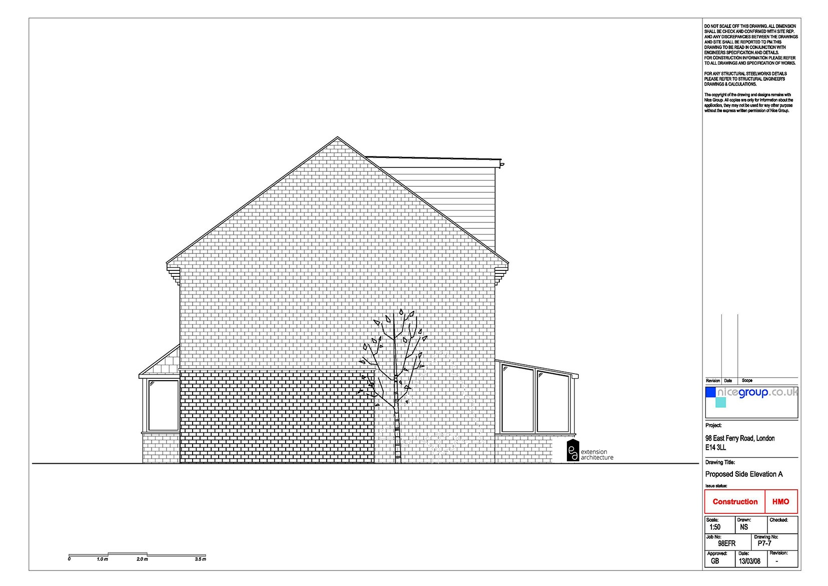 RESIDENTIAL 98 EFR proposed-loft conversion…page 07