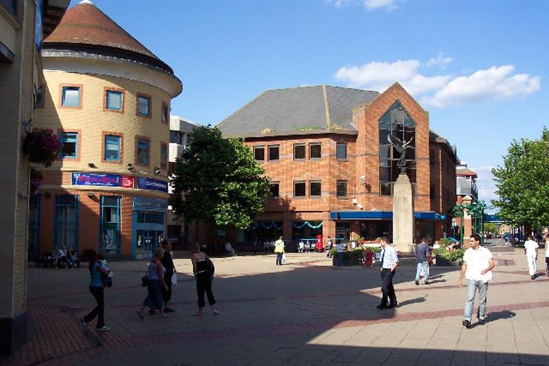 WOKING_Woking Town Centre