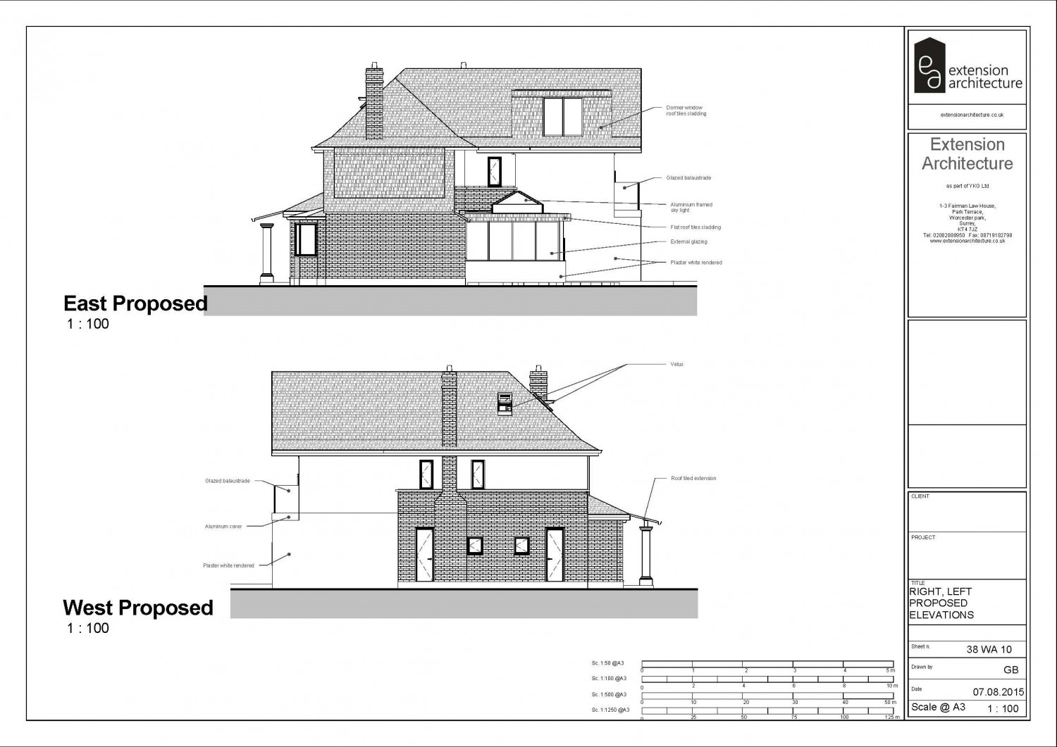 38 wa page 11 extension architecture london planning for Extension architecte