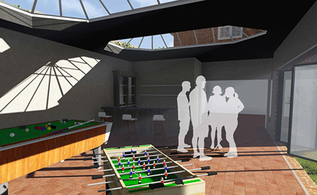 render for article on games room