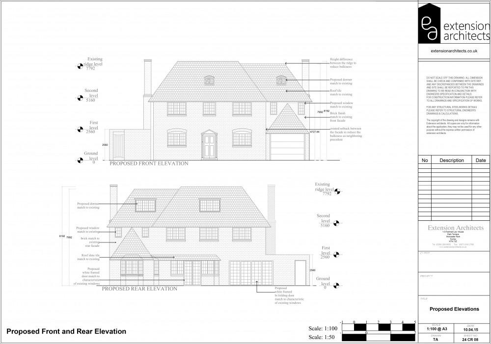 24CR08 Proposed elevations