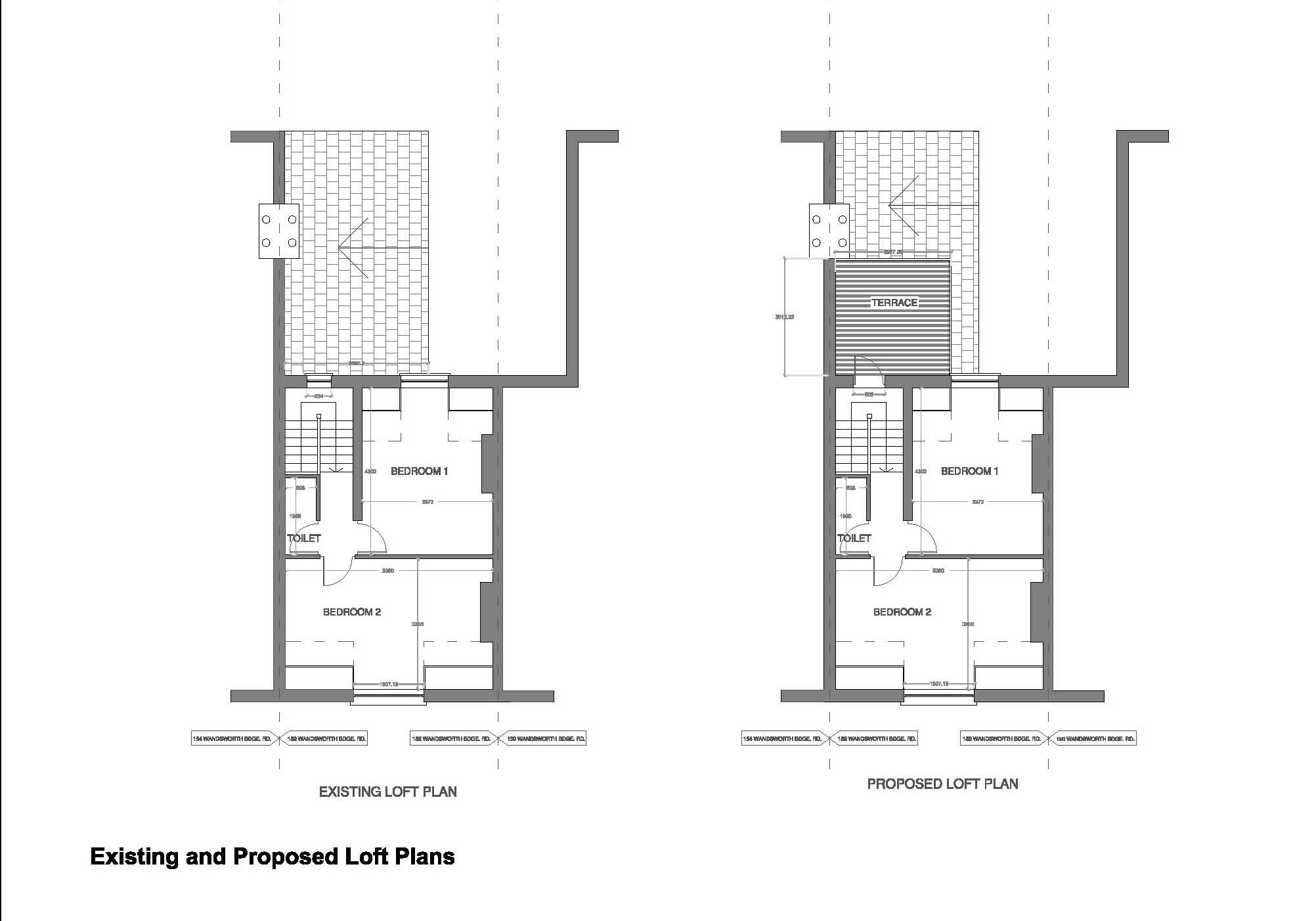 Double-Storey-extension-in-Hammersmith-&-Fulham-First-Floor-Plan