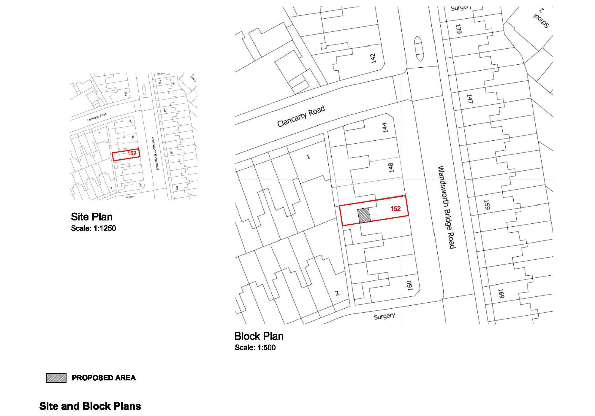 Double-Storey-extension-in-Hammersmith-&-Fulham-Site-Plan