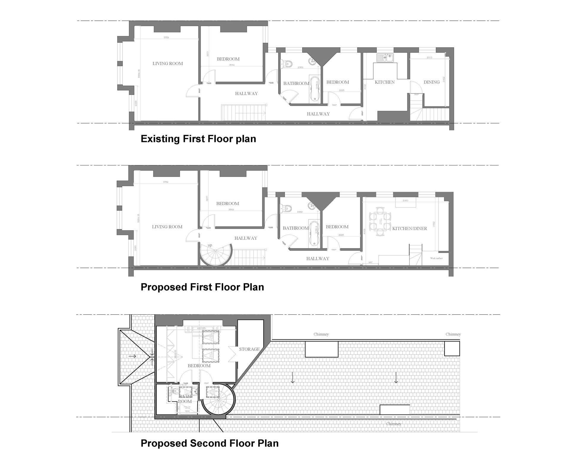 Lambeth-council-First-Floor-Plan