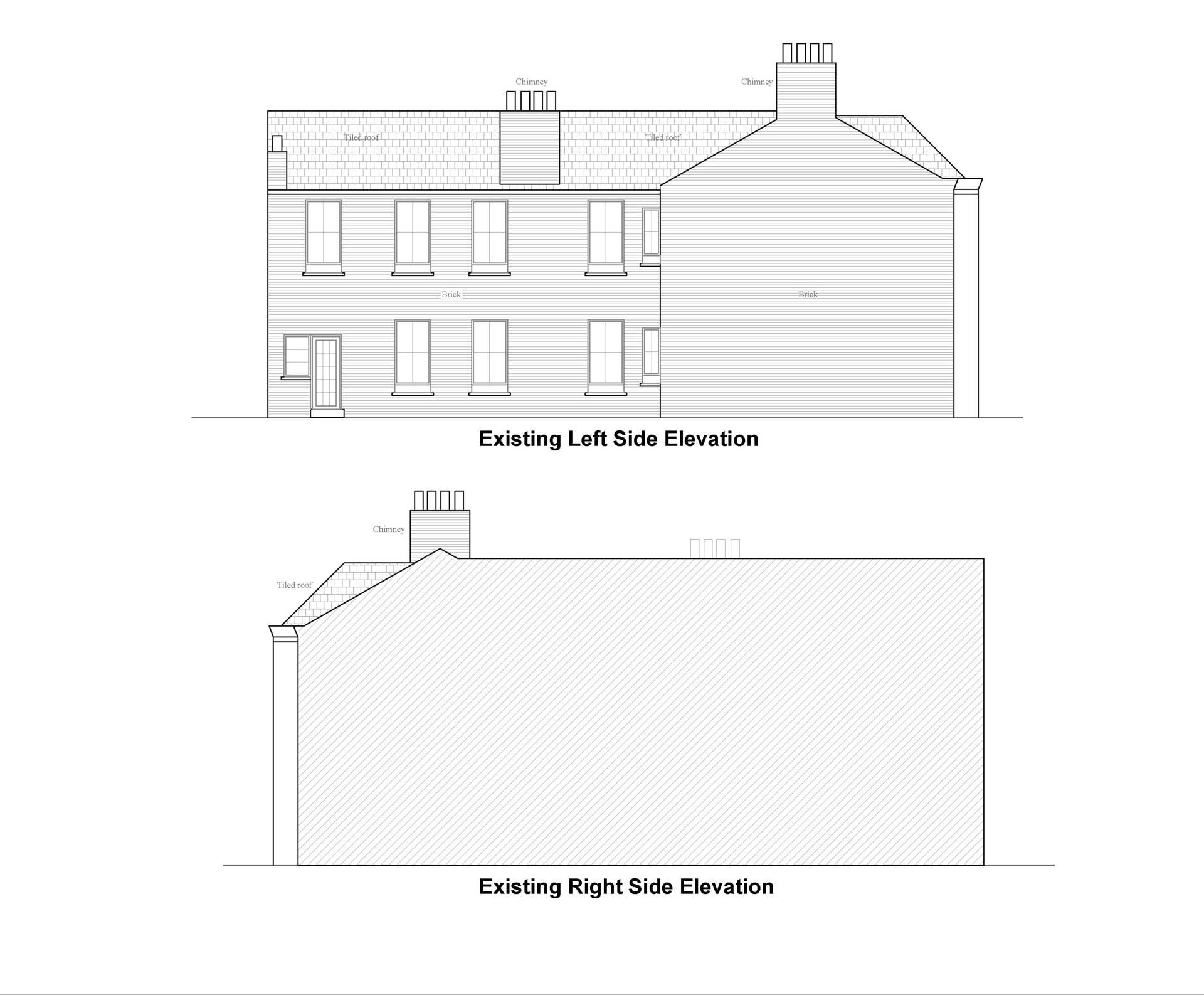 Lambeth-council-Side-Elevation