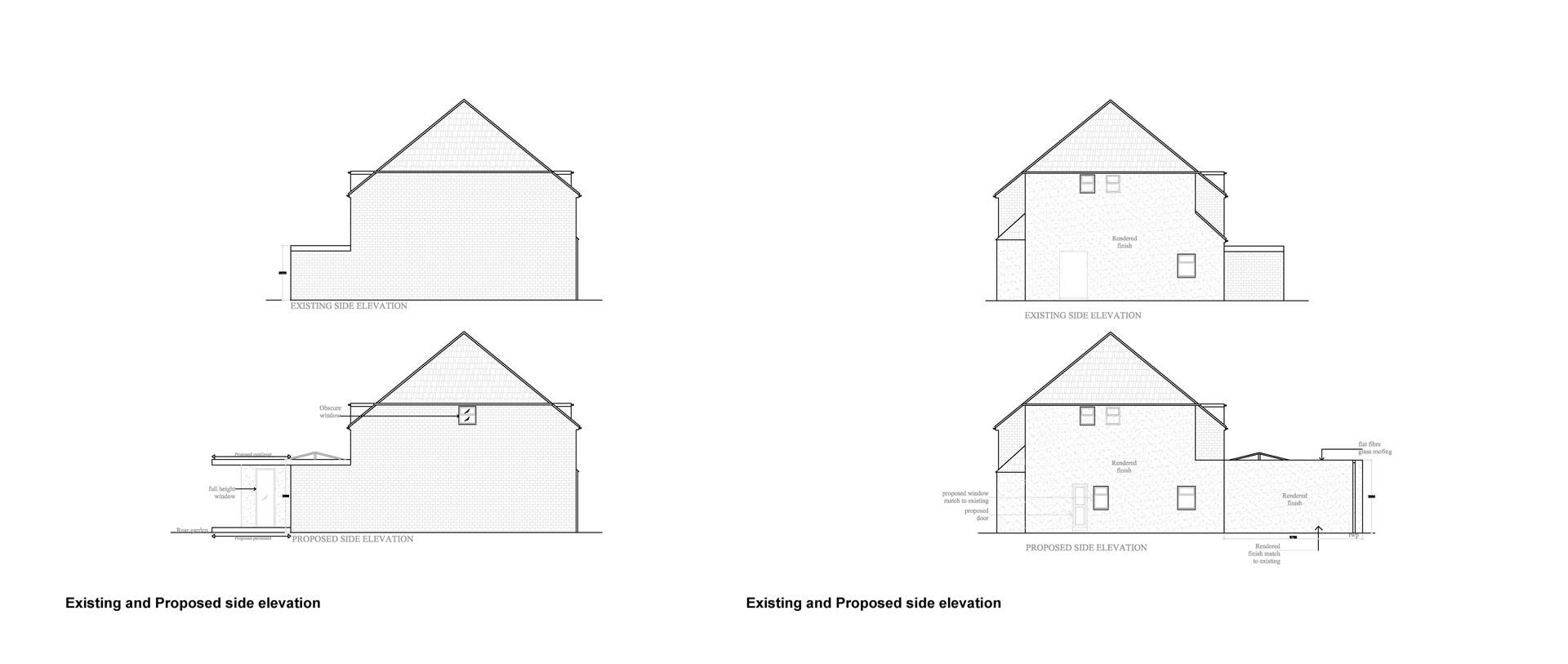 Surrey-council-Side-Elevation