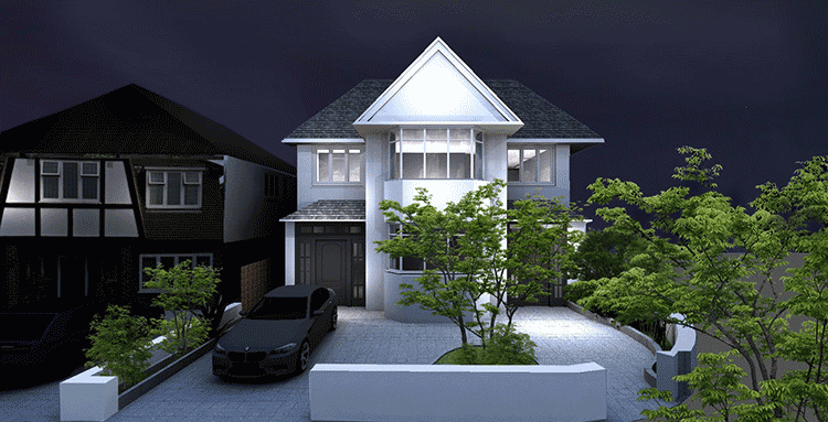 render of exterior for 3D visualisation article