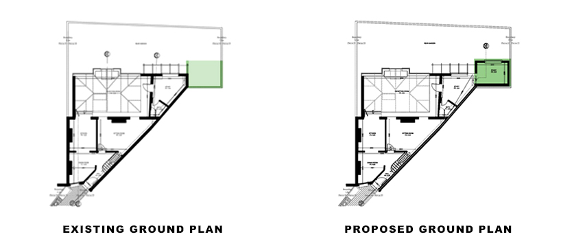 ground plans for portfolio article on local Architect