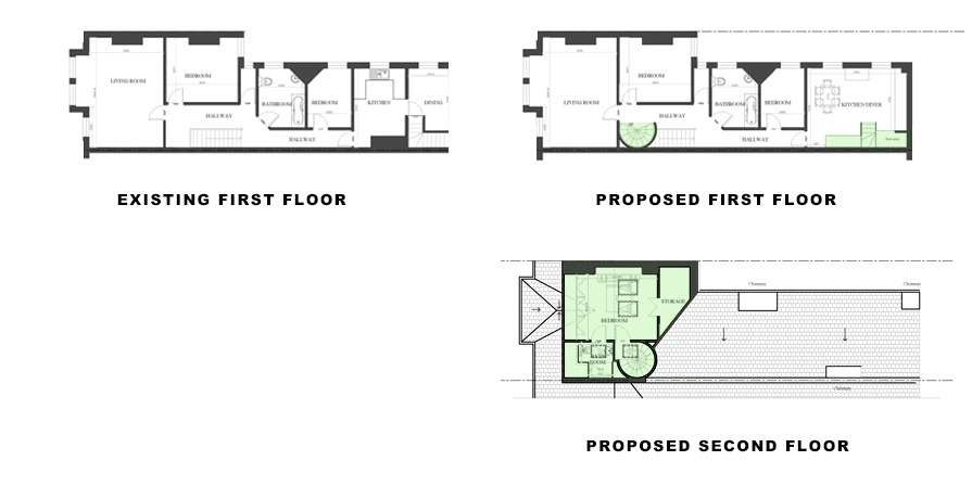 plans for loft conversion in Lambeth