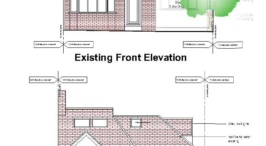 Double storey extension,