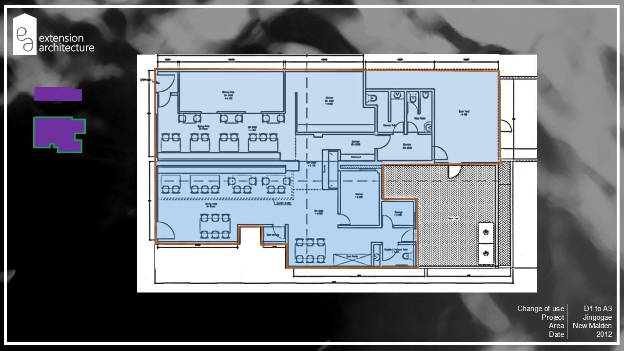 jingogae, change of use, planning drawings, New Malden, Merton
