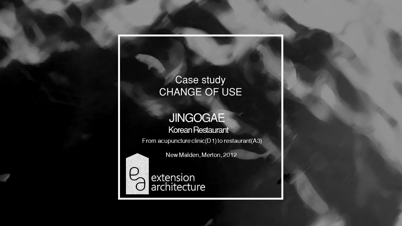 jingogae, change of use, planning drawings, New Malden, Merton1