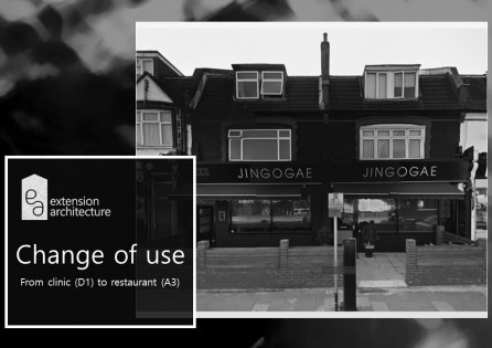 Jingogae Restaurant – Change of Use Case D1 to A3