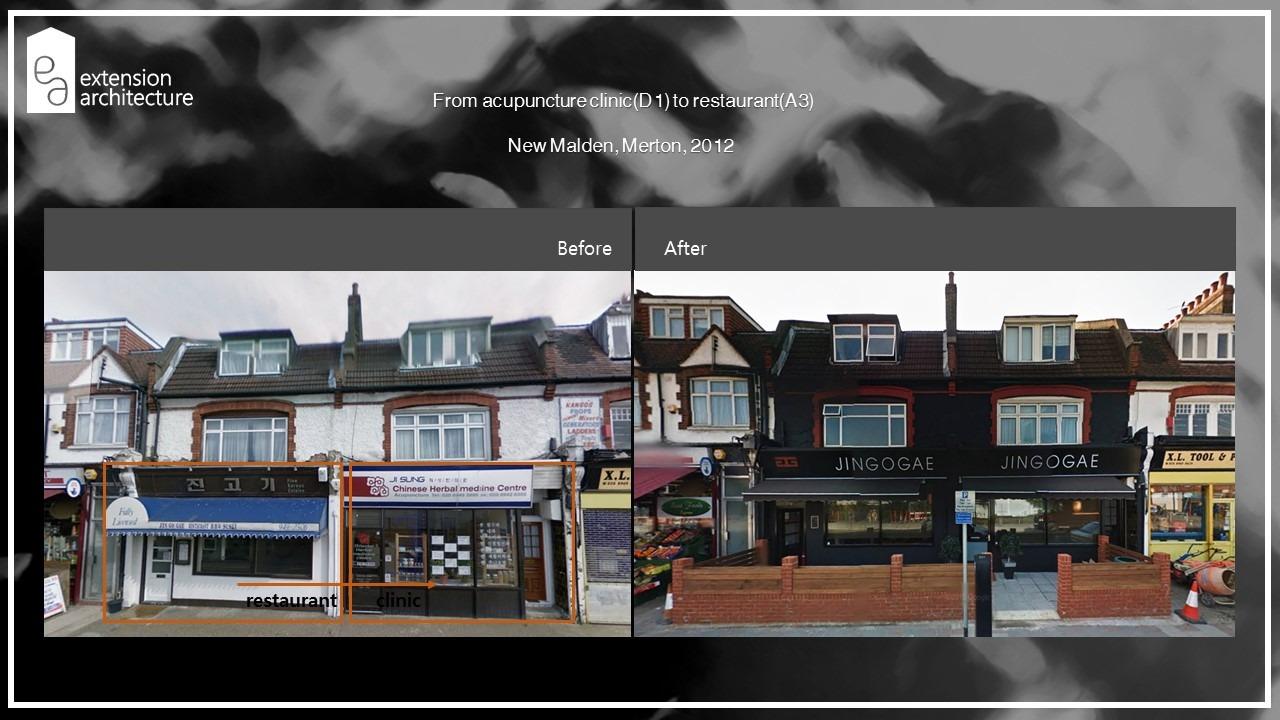 jingogae, change of use, planning drawings, New Malden, Merton3