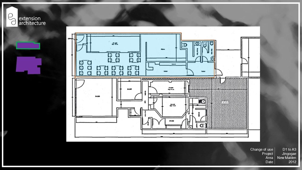 jingogae, change of use, planning drawings, New Malden, Merton4