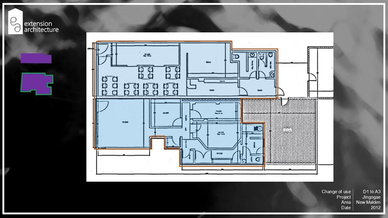 jingogae, change of use, planning drawings, New Malden, Merton5