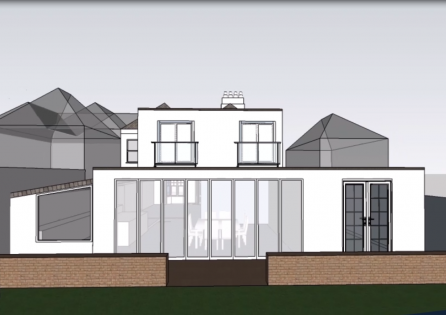 Double Storey Extension in Bromley