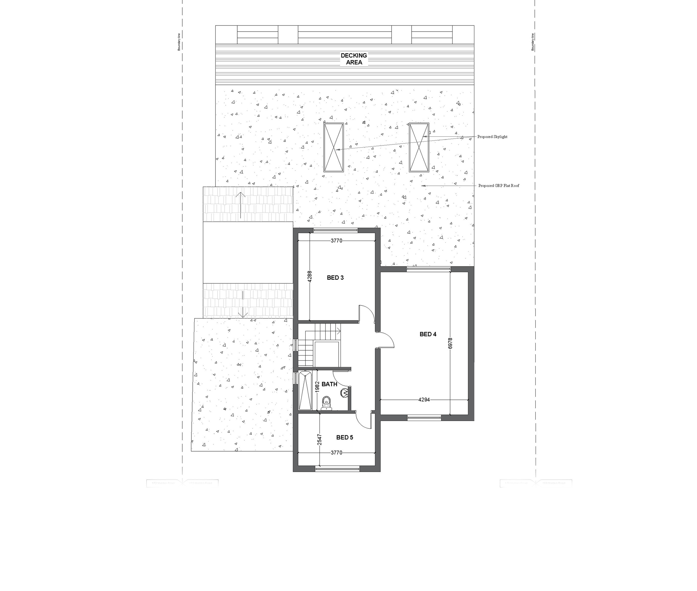 10 proposed first floor plan