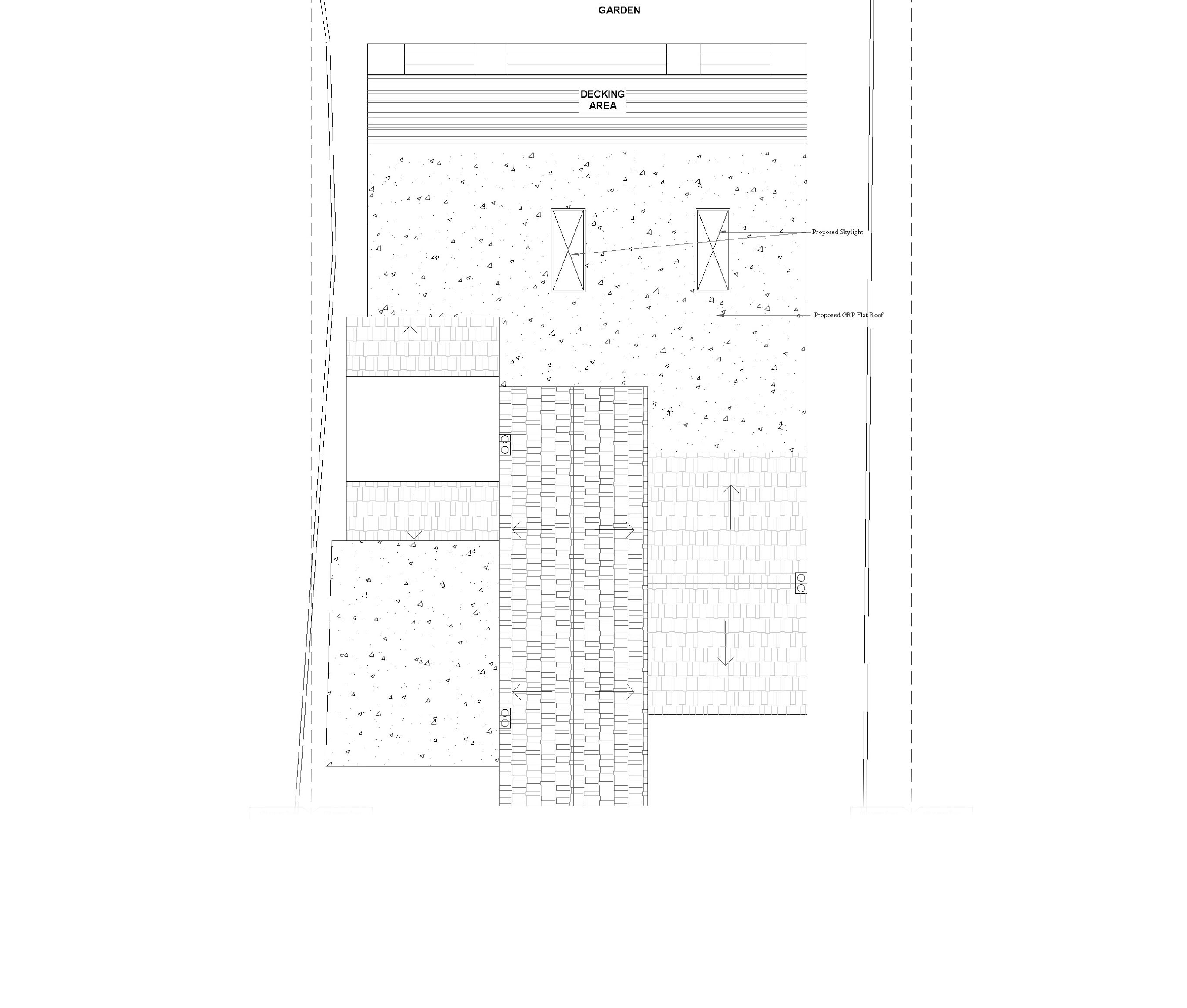 11 proposed roof plan