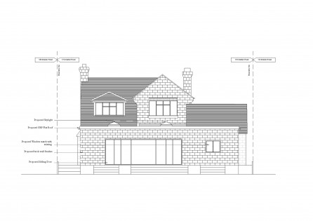 Single storey extension & garage conversion in Kingston